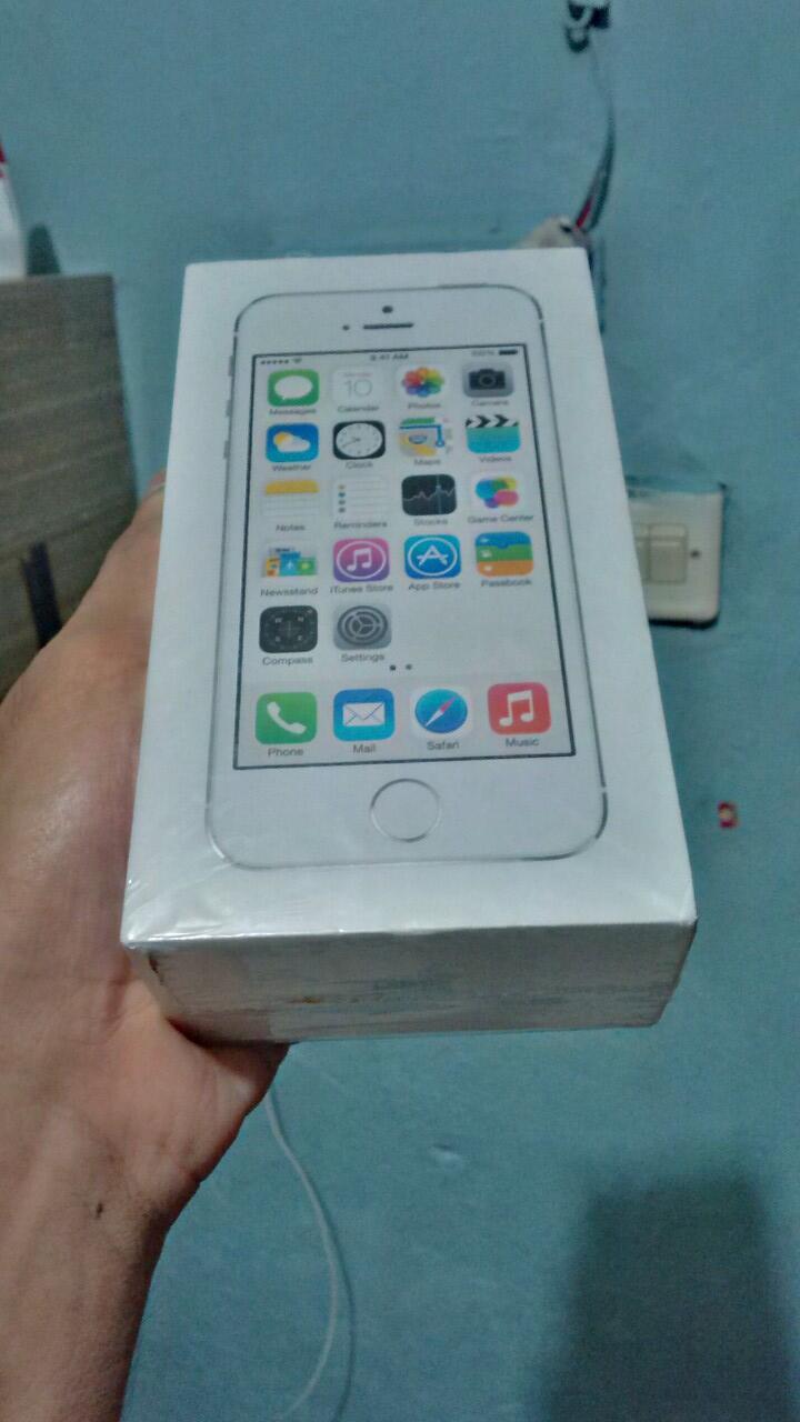 iPhone 5s BNIB 16GB Silver Termurah Sekaskus