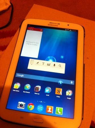 """Jual Samsung Galaxy Note 8"""" , Bandung"""