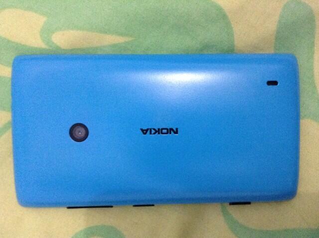 WTS lumia 520 cyan second mulus murah