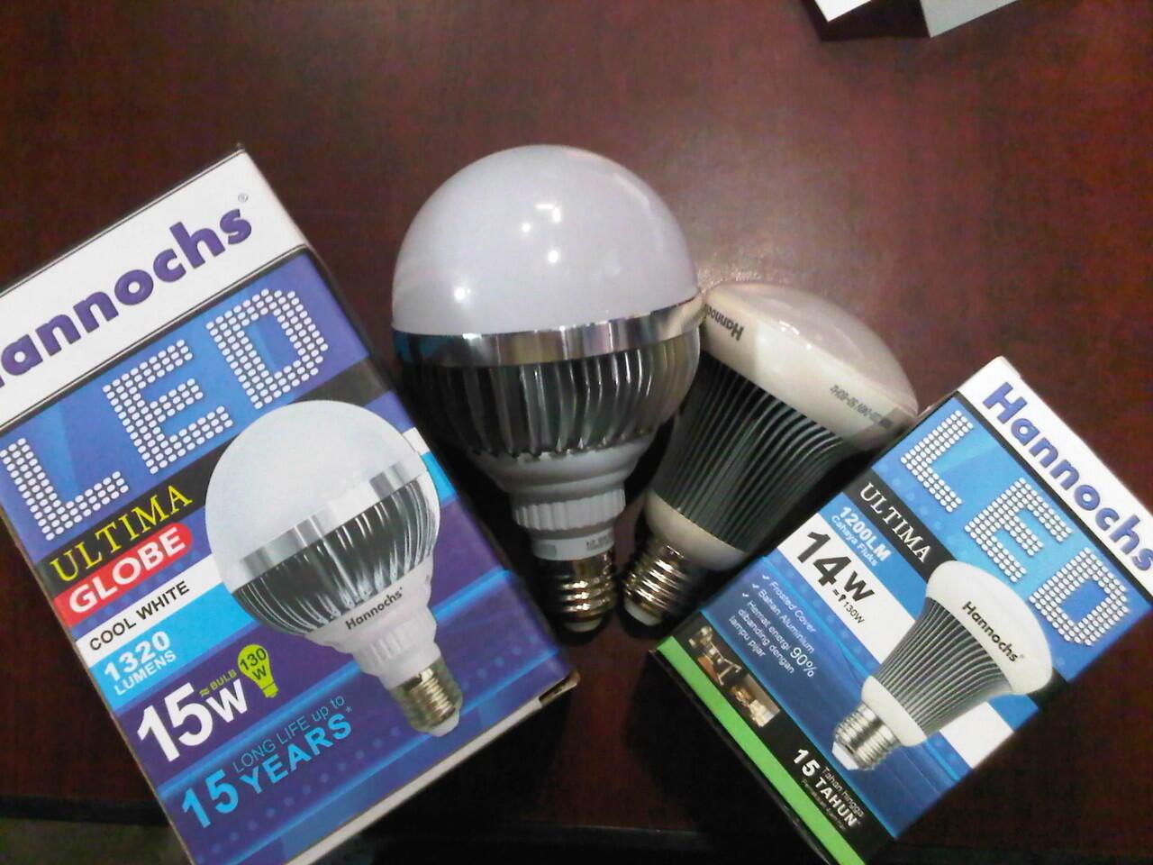 LAMPU LED HANNOCHS HEMAT ENERGI KUALITAS TERBAIK COCOK UNTUK PERKANTORAN