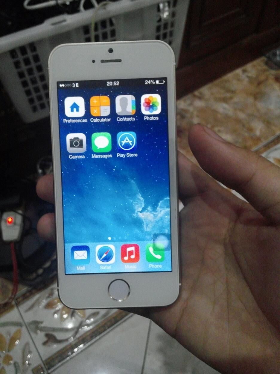 Iphone 5s Gold Replika