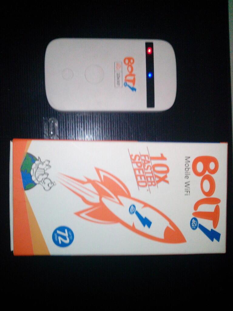WTS Modem Bolt MF90 Rp. 230.000,- Jaktim