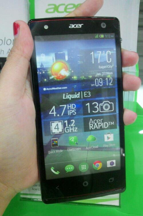HP spek mantap! Acer liquid E3 Quadcore Jellybean Ram 2gb solo jogja semarang