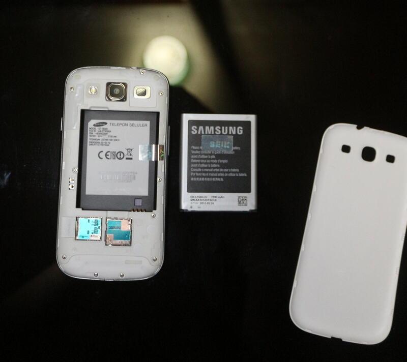 Samsung galaxy s3 ex sein white