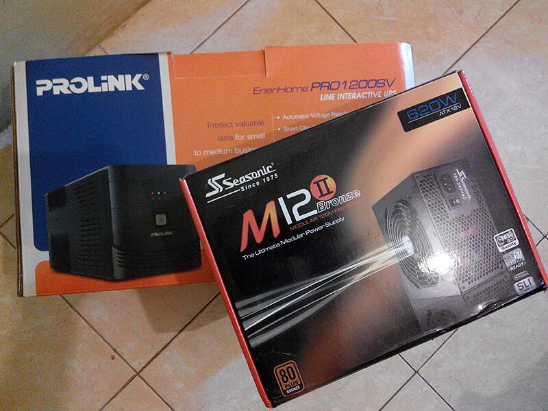 JUAL: UPS prolink 1200SV Like New!