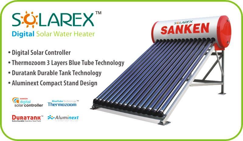 Promo September Ceria Pemanas Air Tenaga Surya Sanken Solarex Termurah!!!