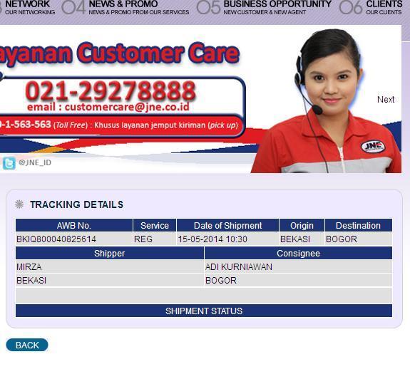 Kecewa dgn JNE Paket REG Bekasi-Bogor 4 Hari Blm Sampai!!!