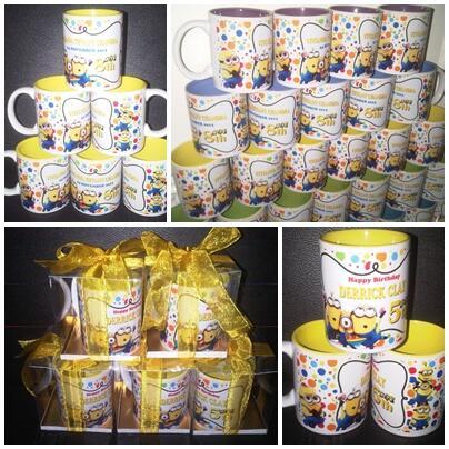 Mug Souvenir Ulang Tahun Mug Souvenir Suvenir Mug Cetak Foto | Mug Souvenir