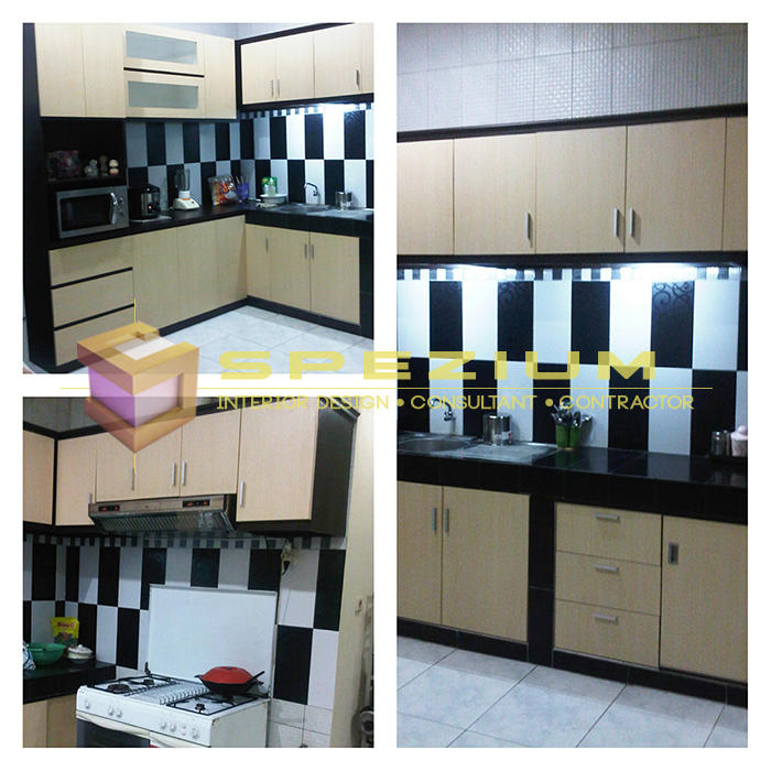 Terjual Kitchen Set Modern HPL Duco