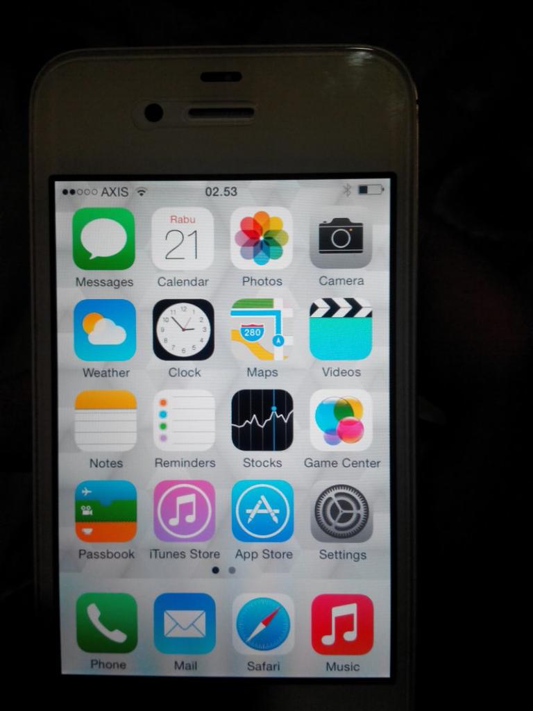 iPhone 4s 16Gb fu batangan like new TT/ Barter