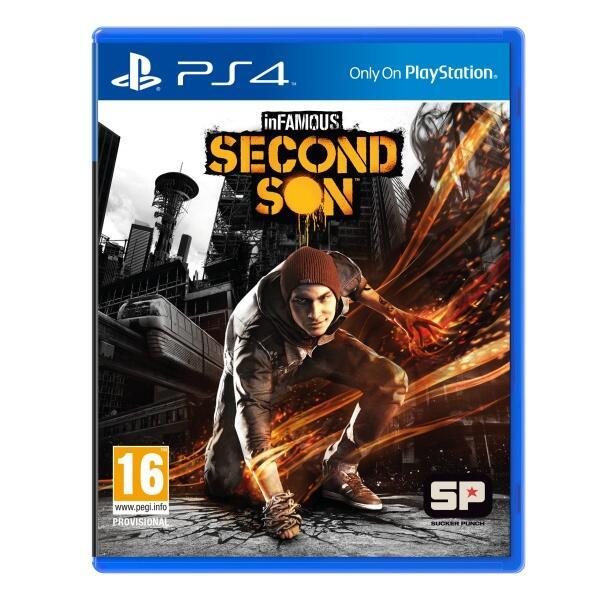 WTS BD PS4 Infamous Second Son