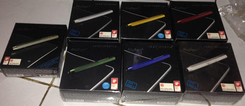 Stylus Alupen, Alupen Cube, Lunatik Touch Pen, Pogo Sketch untuk iPad atau Tablet And