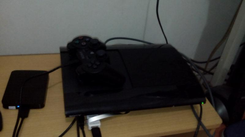 PS3 Super Slim 250GB feat. E3 ODE PRO!