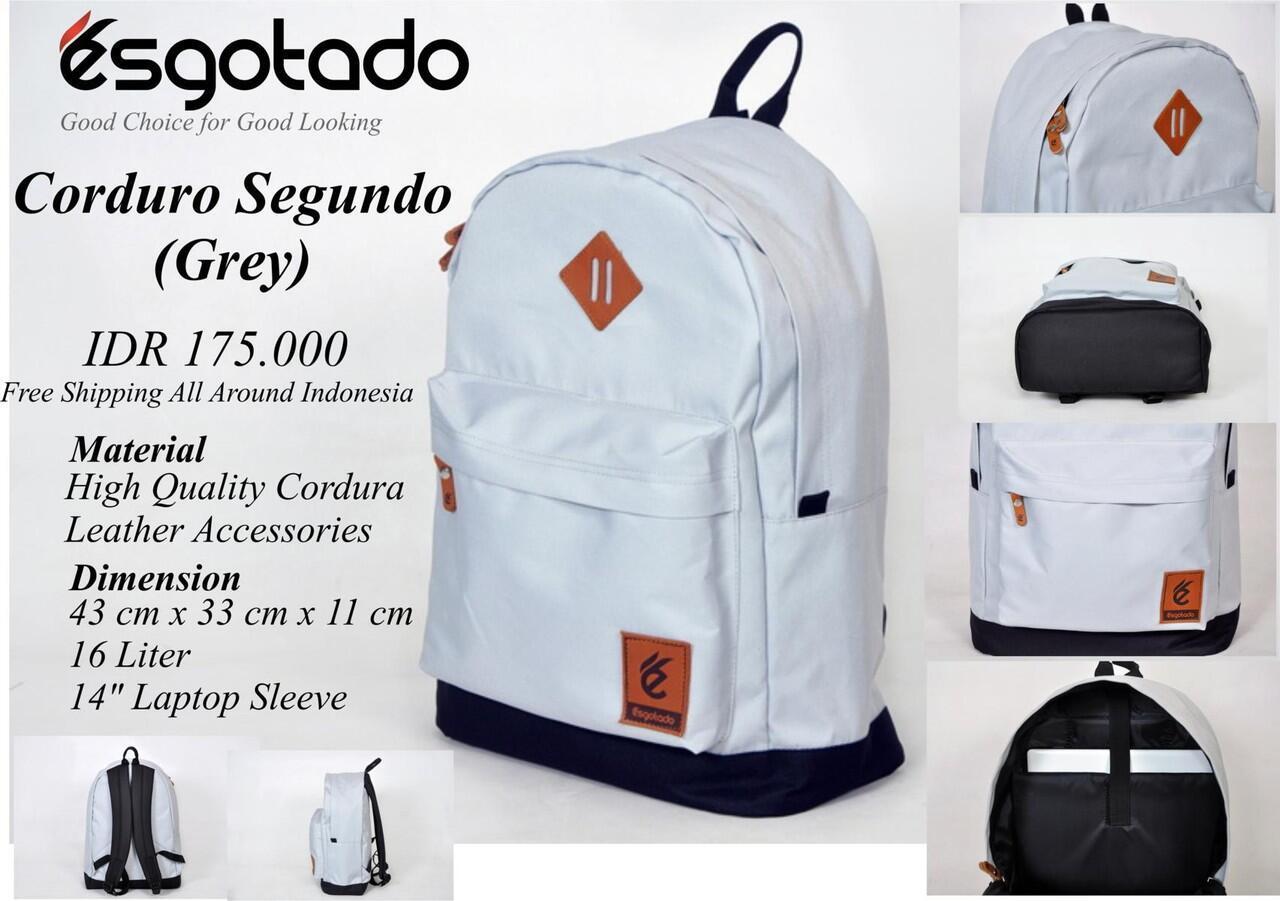 TAS ESGOTADO (100% ORIGINAL | RANSEL | SLEMPANG | KANVAS | DENIM DLL | FREE ONGKIR)