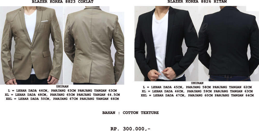 [MAN] JAS BLAZER KOREA PREMIUM UTK PESTA PARTY, PERNIKAHAN WEDDING DLL IMPORT QUALITY