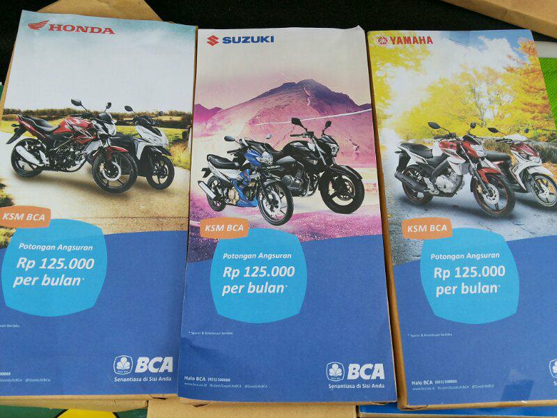Promo Mei -Juni 2014 Kredit Sepeda Motor BCA