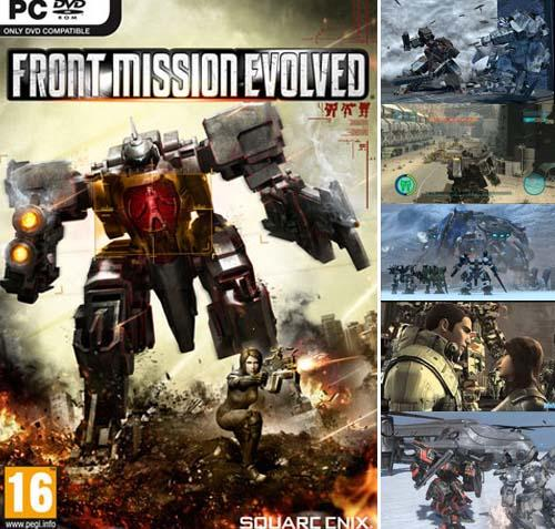 JUAL GAME FRONT MISSION EVOLVED PC !!!