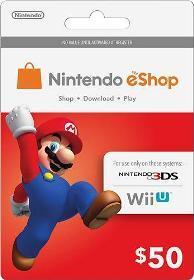 Nintendo eShop Card untuk Nintendo 3DS atau Wii U