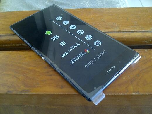 Sony Xperia Z Ultra C6802 SWAP Unit Baru Garansi Feb 2015 Obraal Semarang (Sixprett)