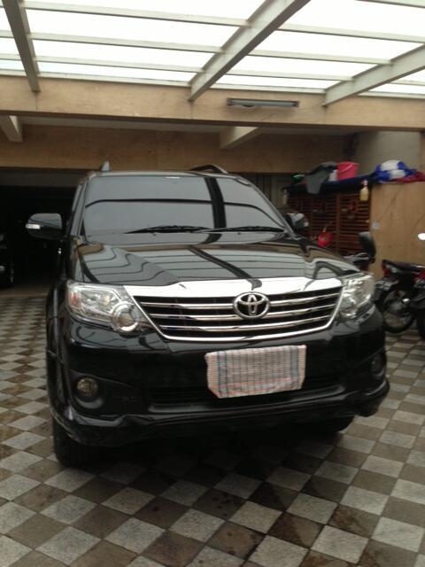Toyota Fortuner 2.7 G Lux 2012 TRD Body Kit Mulus