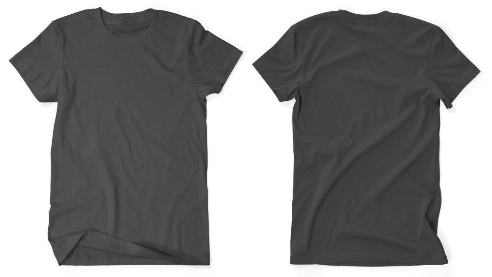 Blank black shirts