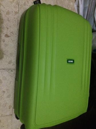 "Jual Tas koper Lojel Streamline size 24"" warna hijau ."