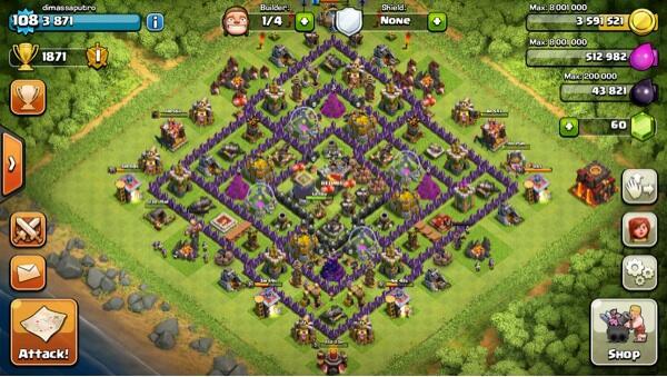Terjual Jual Akun Coc Clash Of Clans Th10 Lvl 108 Murah Kaskus