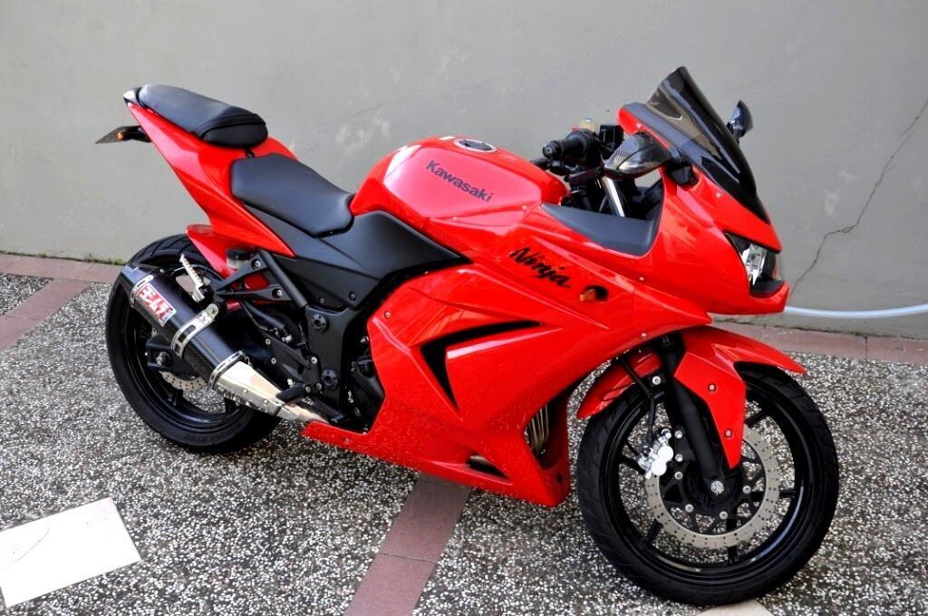 Terjual Gadai Motor Kawasaki Ninja 250 Warna Merah Thn 2010 Kaskus