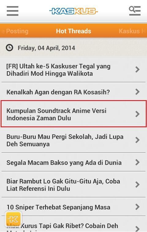 [YUK NOSTALGIA] Kumpulan OST Anime Versi Indonesia Tempo Dulu