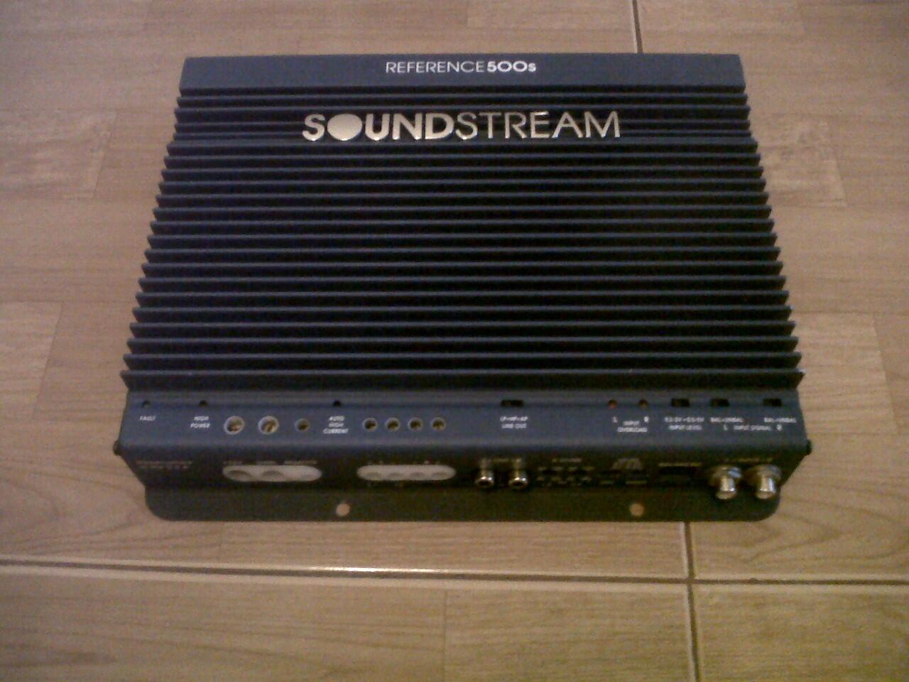 power SOUNDSTREM REF 500s, 2ch