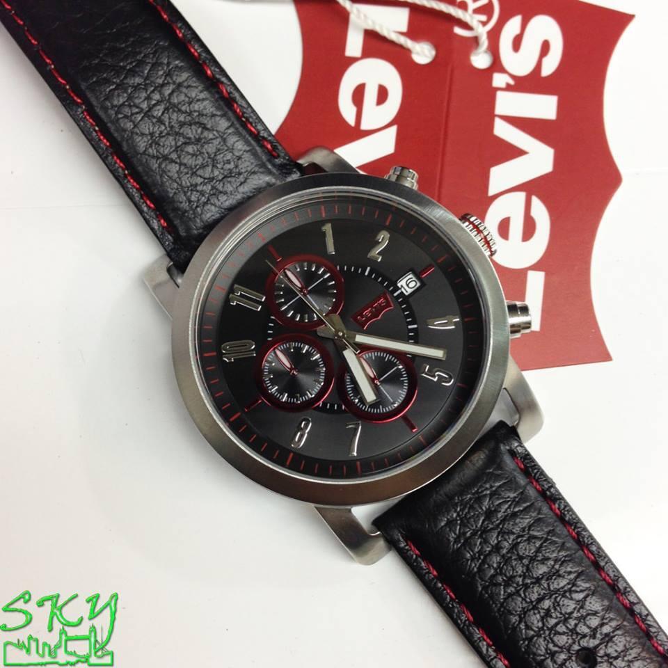 Levis Ltj0206 Jam Tangan Pria Stainless Steel Merah - Daftar Harga ... 638f05af5b
