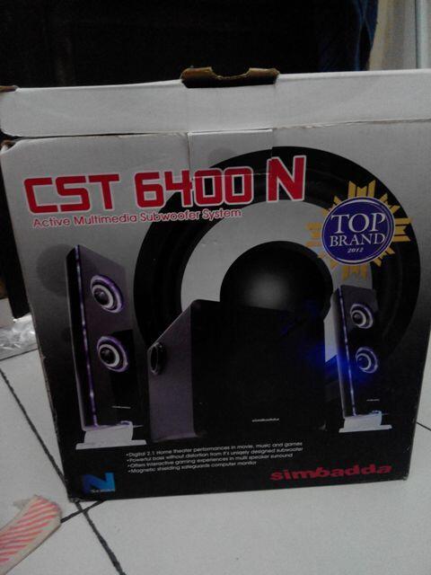 Speaker Simbadda CST 6400 - Balikpapan