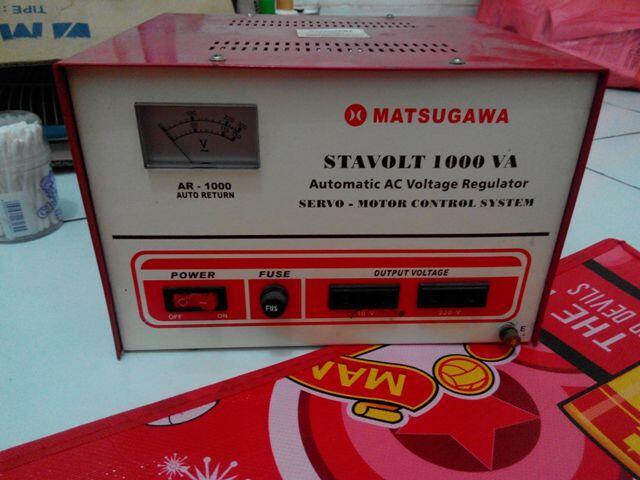 Stavolt Motor Matsugawa 1000va Balikpapan