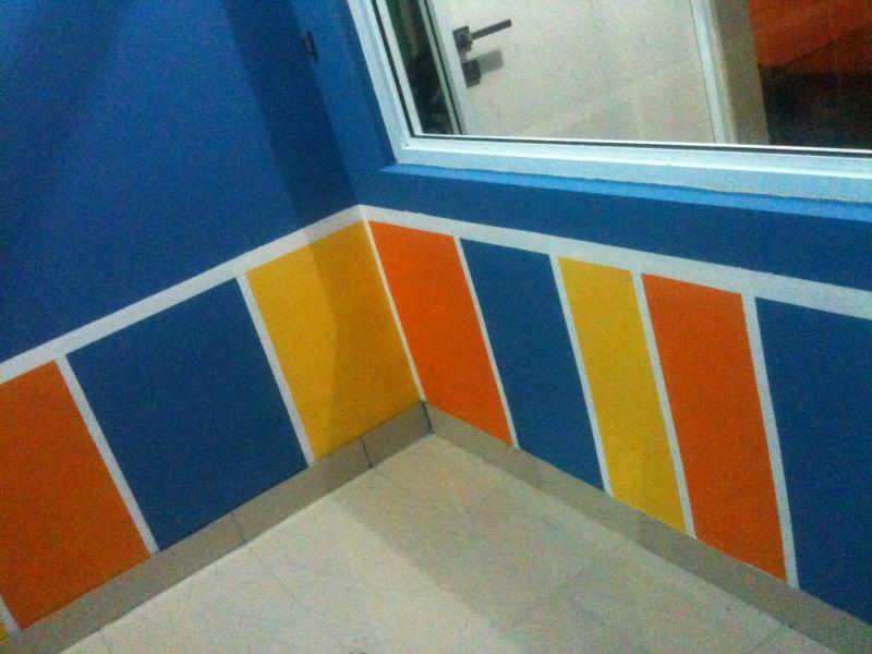 jasa lukis dinding ganti wallpaper ( mural / wallpainting)
