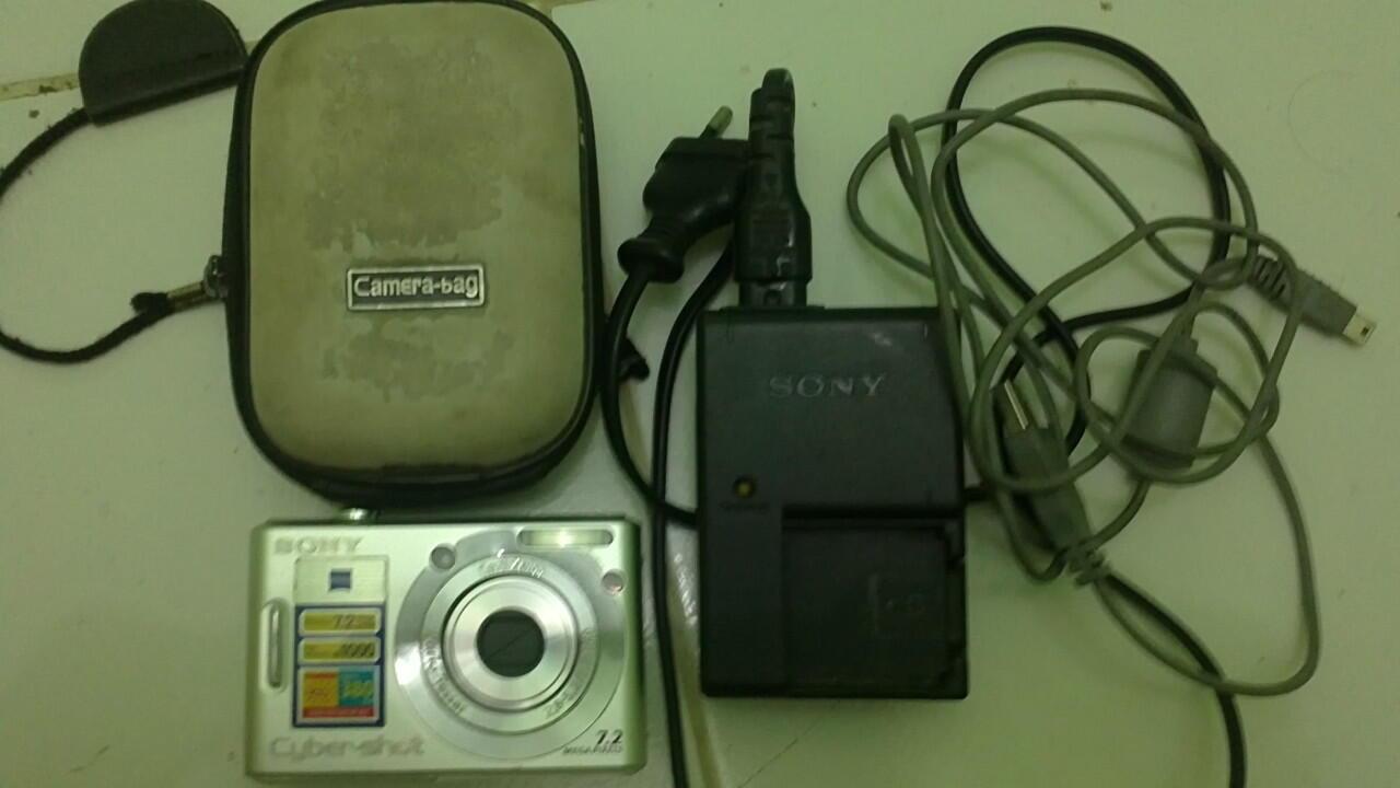 Kamera Digital Sony 7MP Murah (DSC W-35)