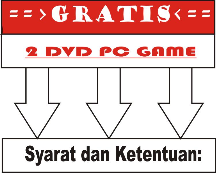### Game PC LENGKAP MURAH MERIAH 4000/DVD,Jakarta ###