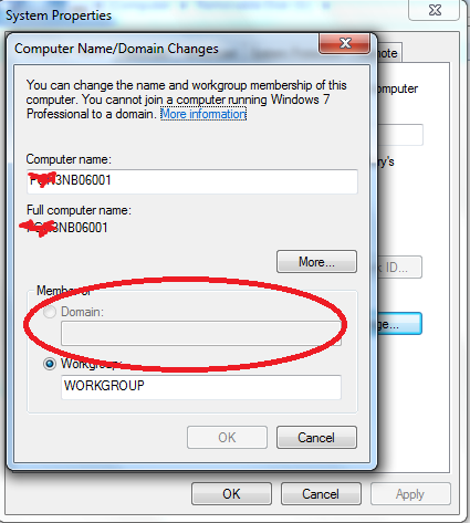 how to import domain trust to not join domain laptop