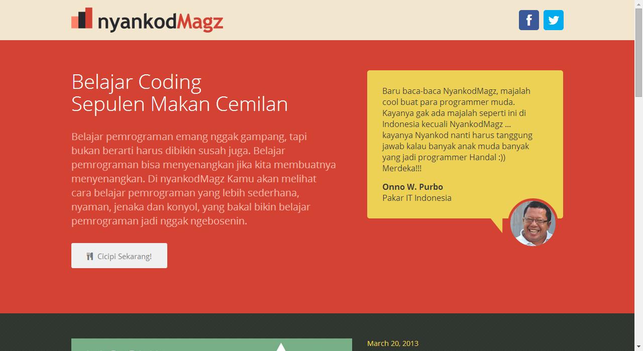 Balasan Dari Belajar Programming Dengan Bahasa Gaul