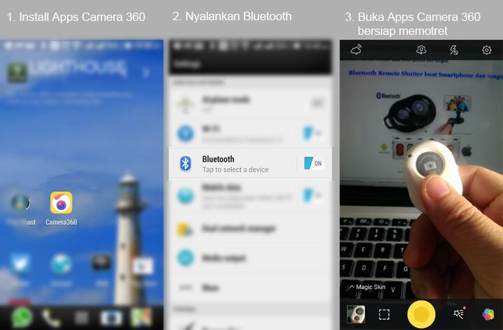 Bluetooth Remote Shutter buat Smartphone dan tongsis | KASKUS