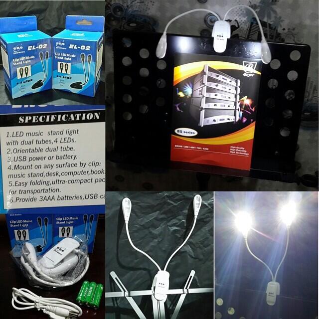 Jual lampu LED merk eno utk stand part & standbook kualitas bagus gan, murah bener ga