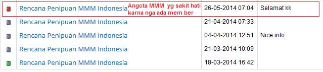 Rencana Penipuan MMM Indonesia - Part 1