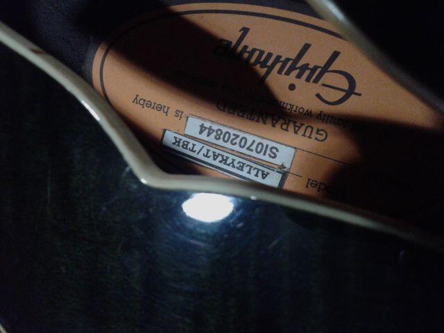 JUAL !! Gitar Ephiphone Hollowbody