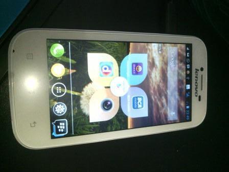 Handphone Android Lenovo A706, Putih Mulus gan