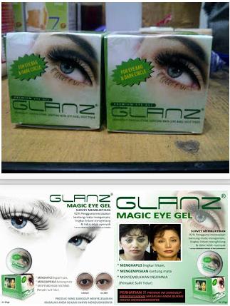 Glanz magic eye gel asli