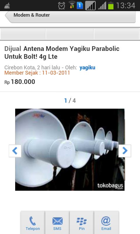 complain YAGIKU penguat sinyal gsm..