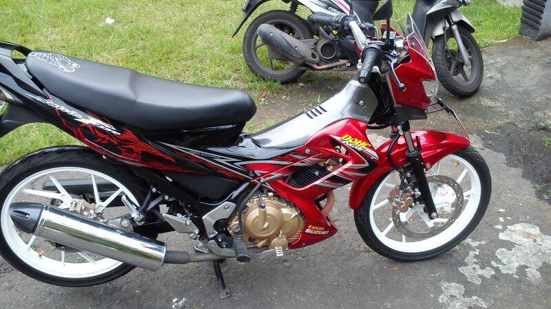 [WTS] Suzuki Satria Fu 2012 Merah Hitam