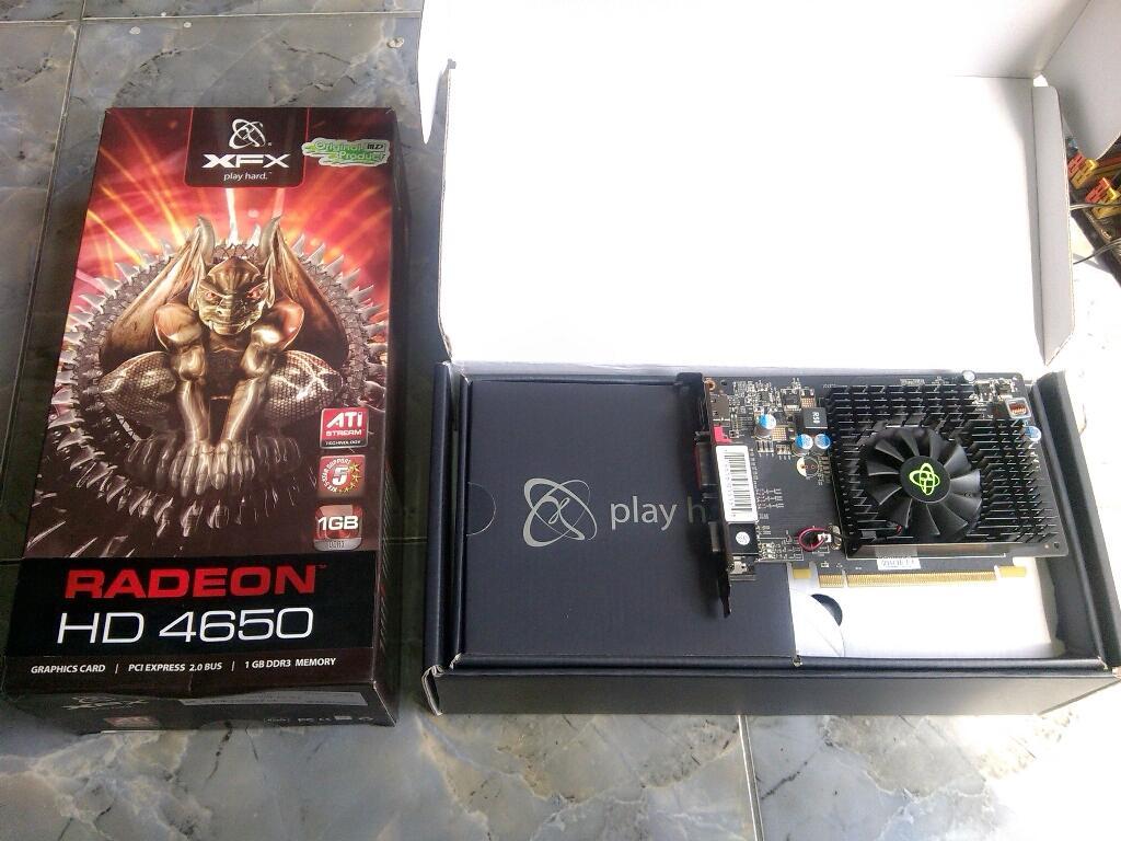 XFX 4650 1GB DDR3 Fullset