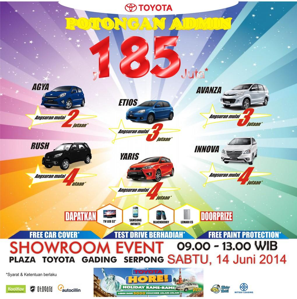 PLAZA TOYOTA THE BIGGEST PROMO !! SHOWROOM EVENT....