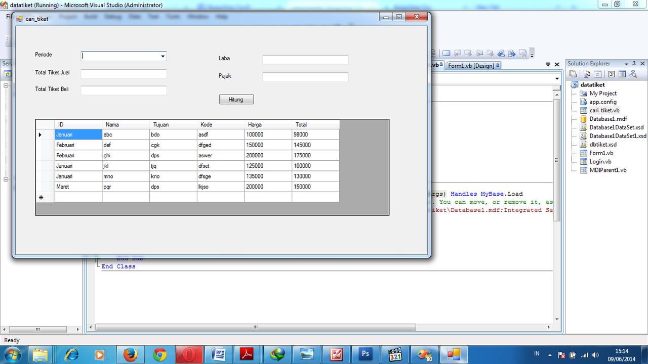 vb.net coding