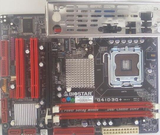 MOBO INTEL BIOSTAR G41 G3D+ DDR3